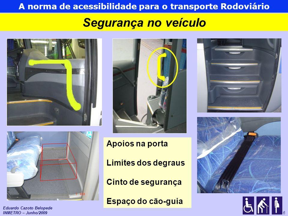 A norma de acessibilidade para o transporte Rodoviário