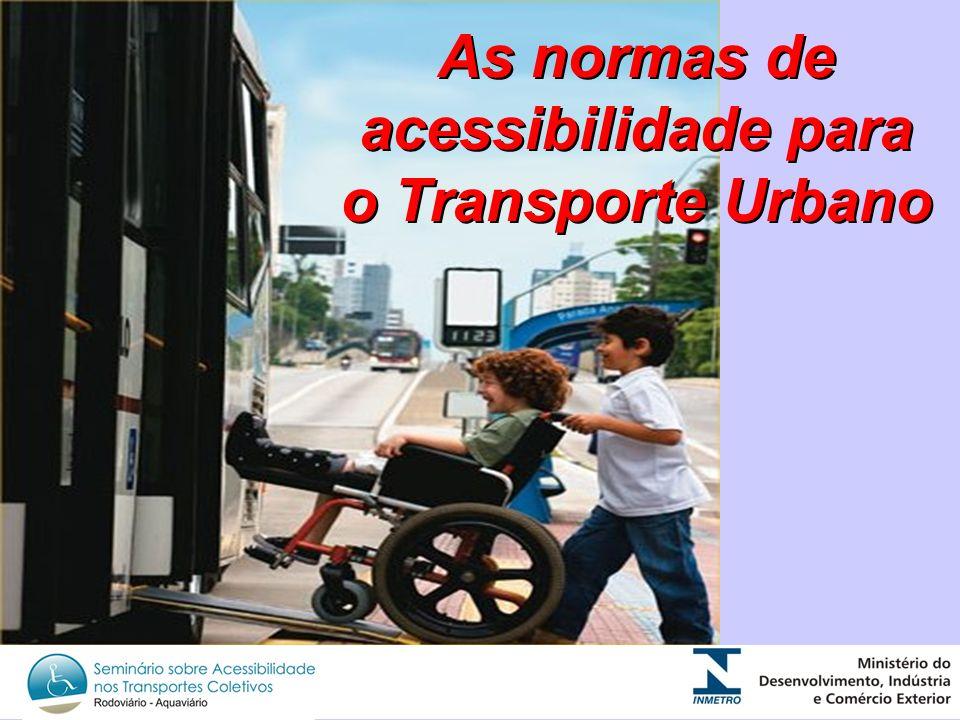 As normas de acessibilidade para o Transporte Urbano