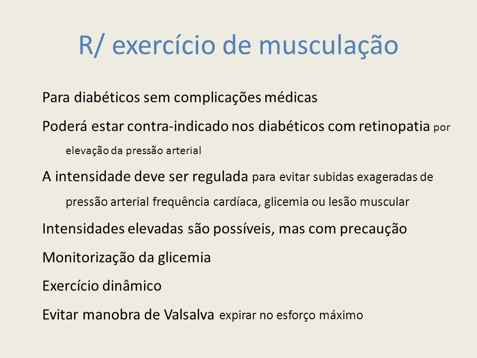 R/ exercício de musculação
