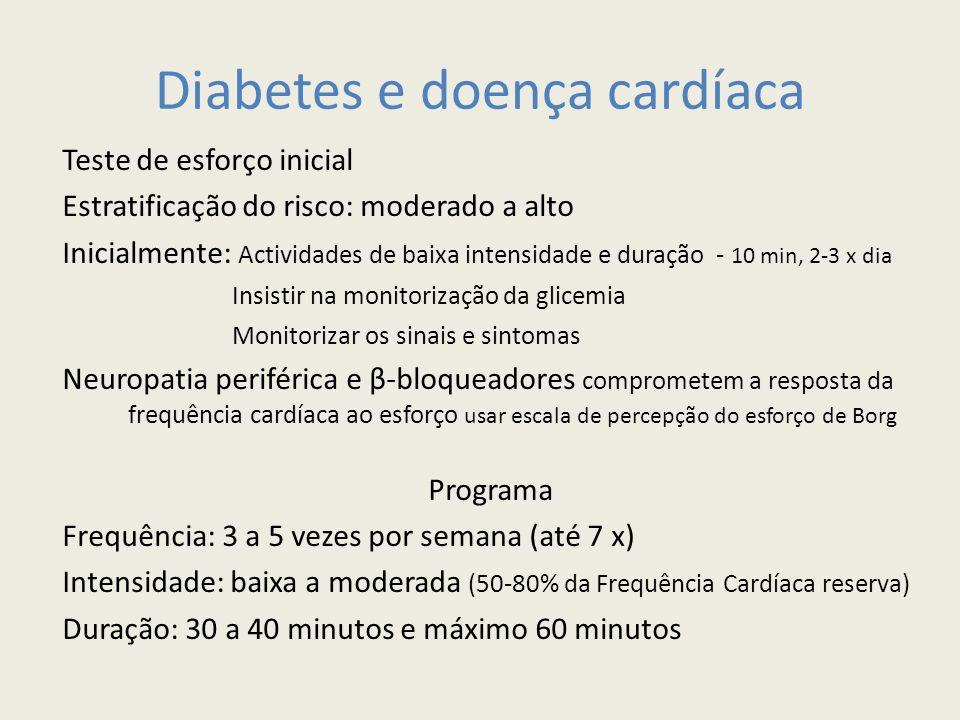 Diabetes e doença cardíaca