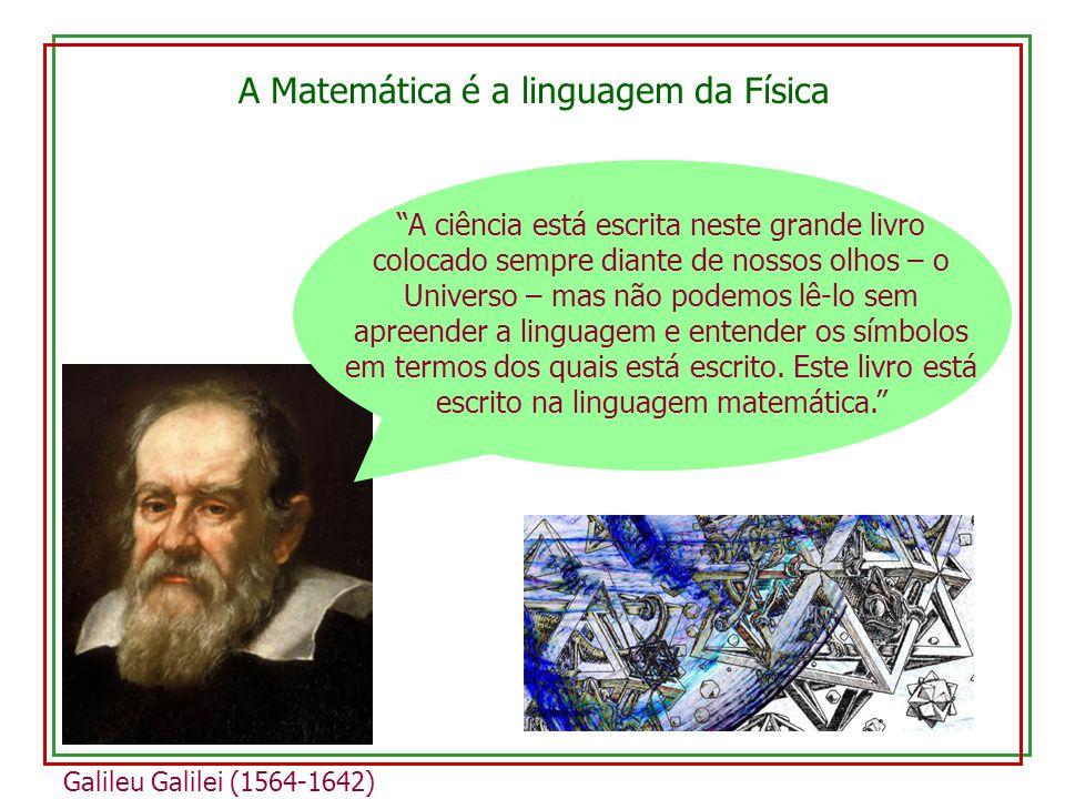 A Matemática é a linguagem da Física