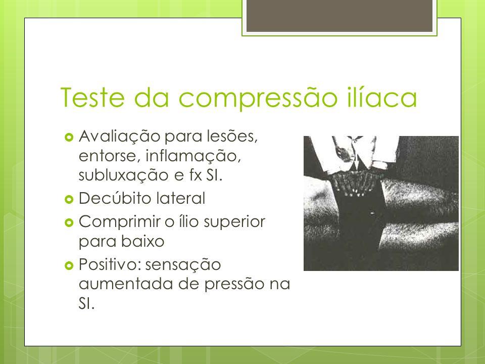 Teste da compressão ilíaca