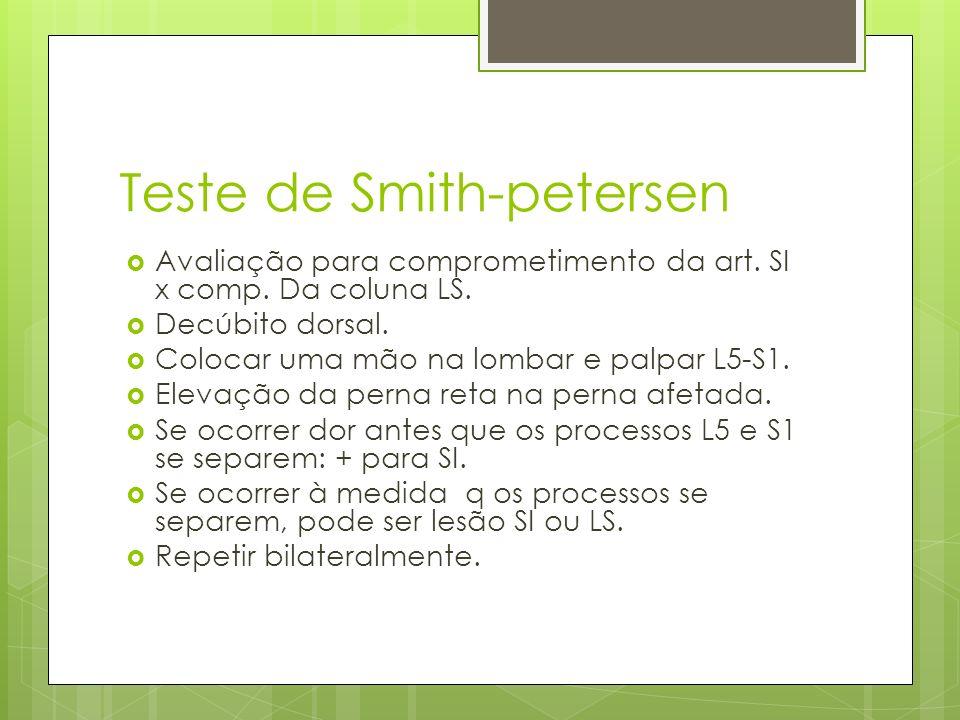 Teste de Smith-petersen