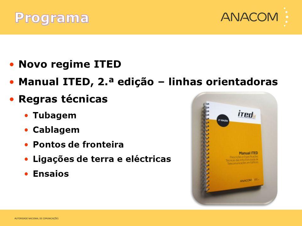 Programa Novo regime ITED