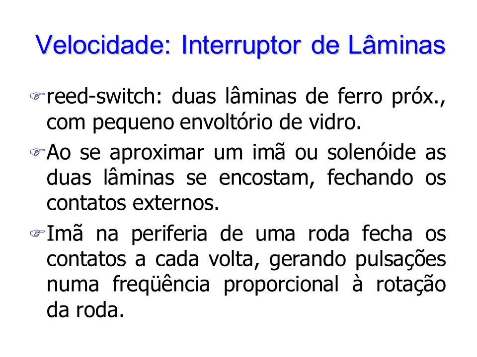 Velocidade: Interruptor de Lâminas