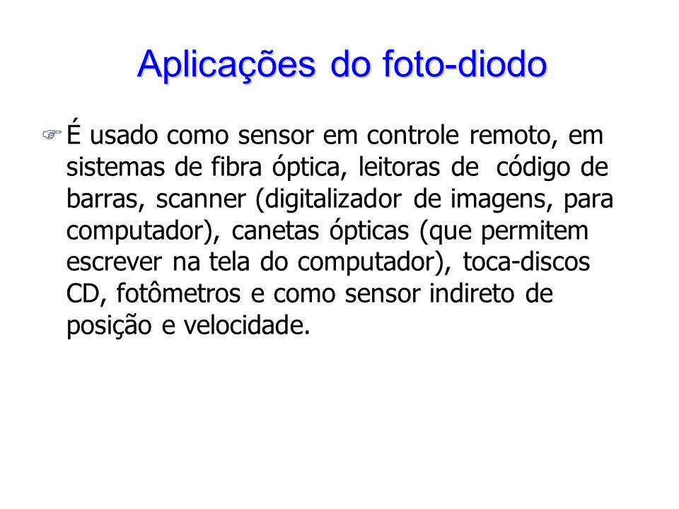 Aplicações do foto-diodo