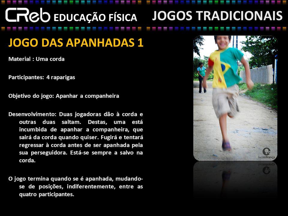 JOGOS TRADICIONAIS JOGO DAS APANHADAS 1