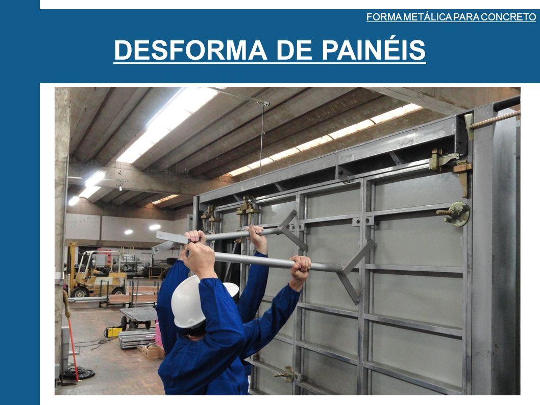 FORMA METÁLICA PARA CONCRETO