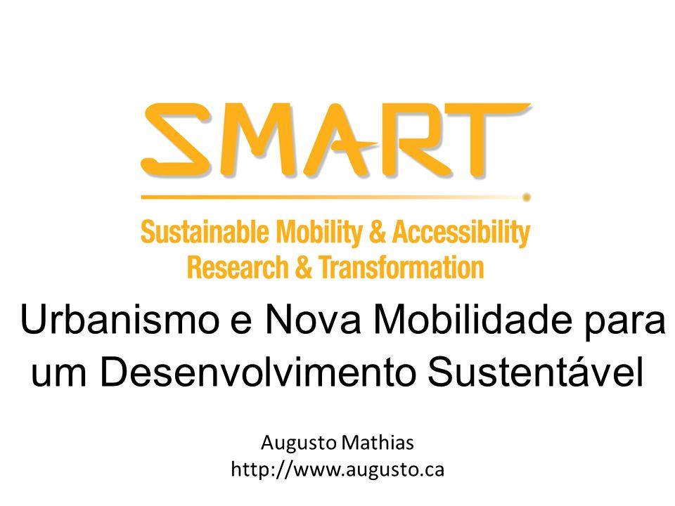 Urbanismo e Nova Mobilidade para um Desenvolvimento Sustentável