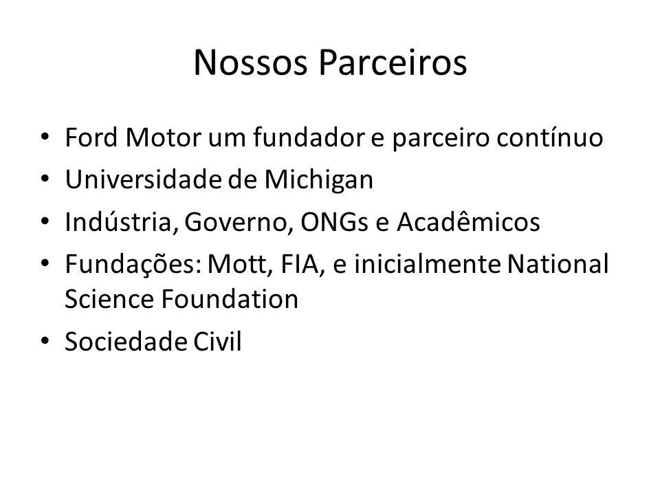 Nossos Parceiros Ford Motor um fundador e parceiro contínuo