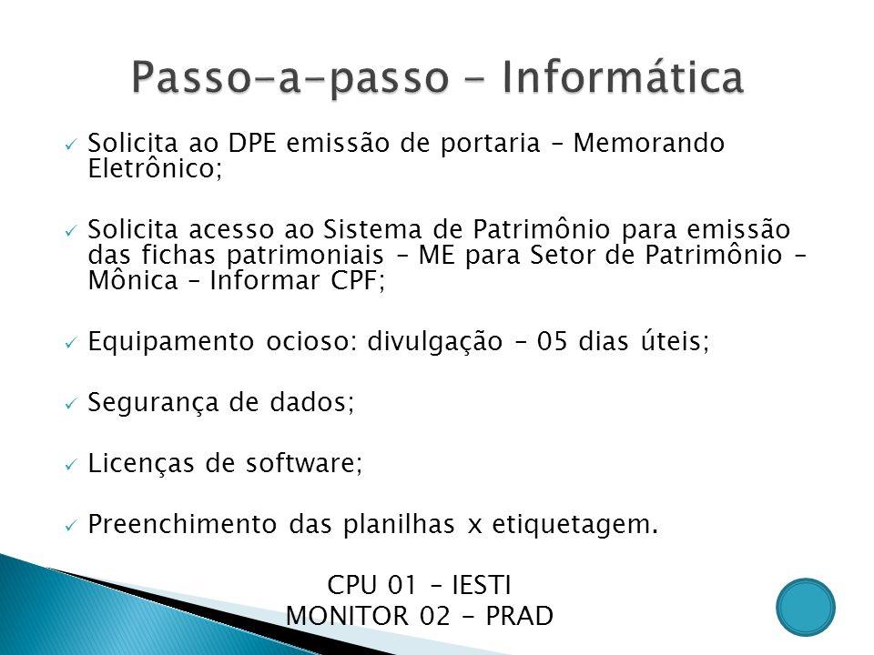Exame cpf