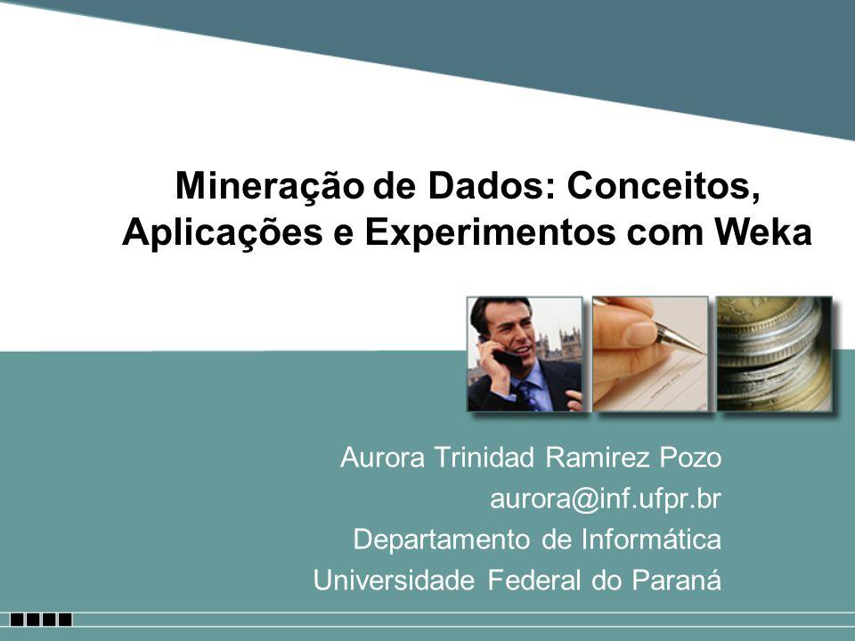 Mineração de Dados: Conceitos, Aplicações e Experimentos com Weka