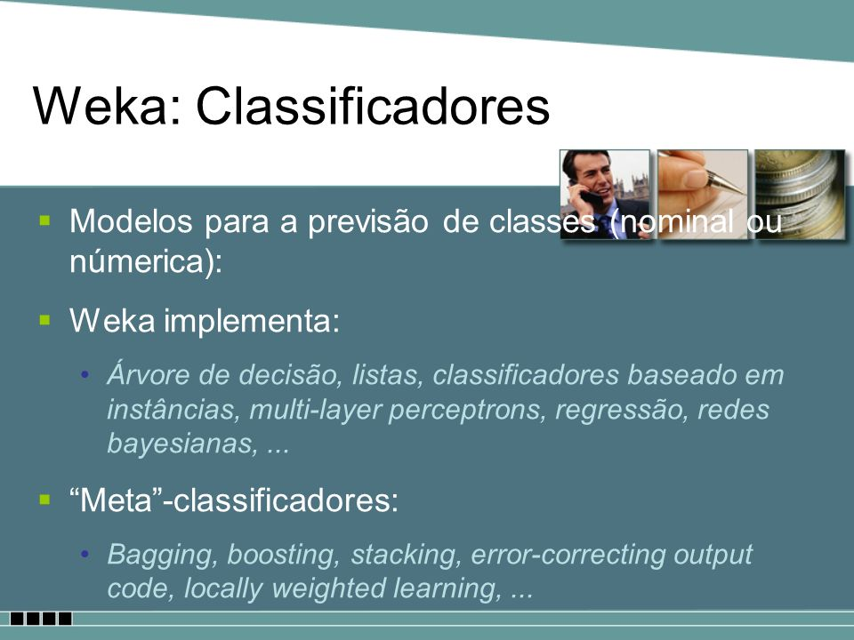 Weka: Classificadores