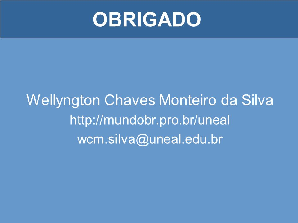 Wellyngton Chaves Monteiro da Silva