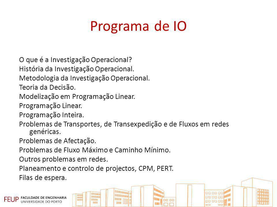 Programa de IO