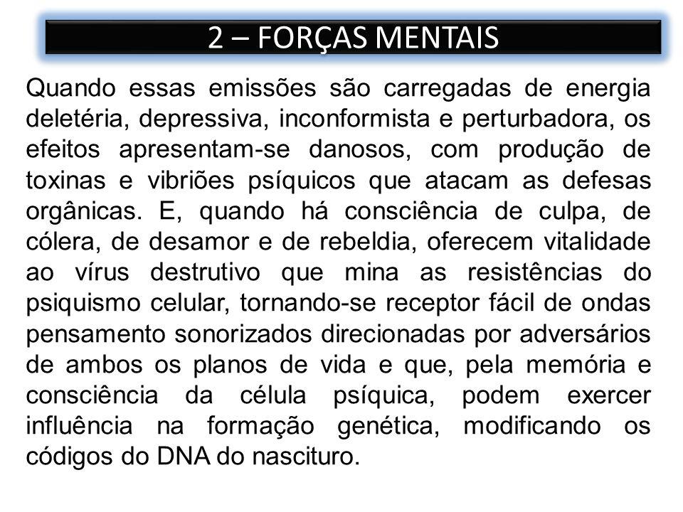 2 – FORÇAS MENTAIS