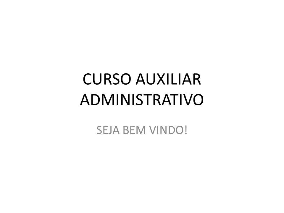 CURSO AUXILIAR ADMINISTRATIVO