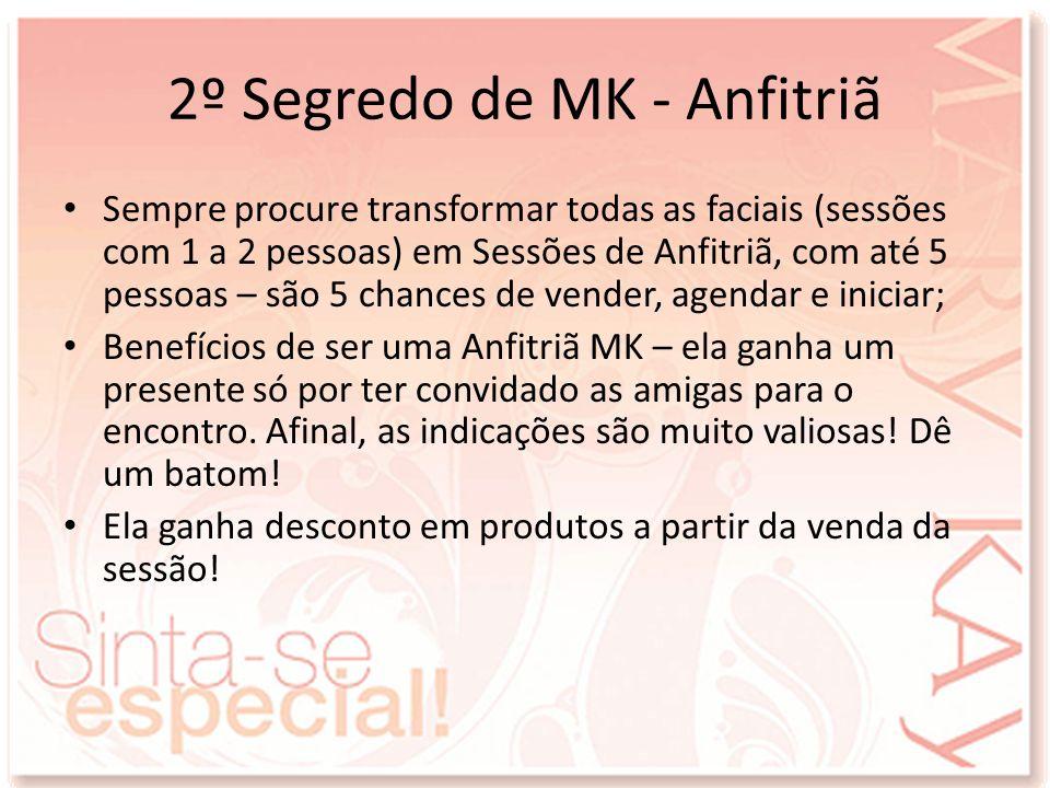 2º Segredo de MK - Anfitriã