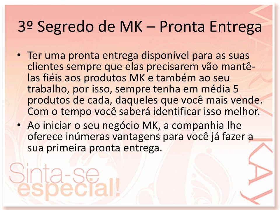3º Segredo de MK – Pronta Entrega