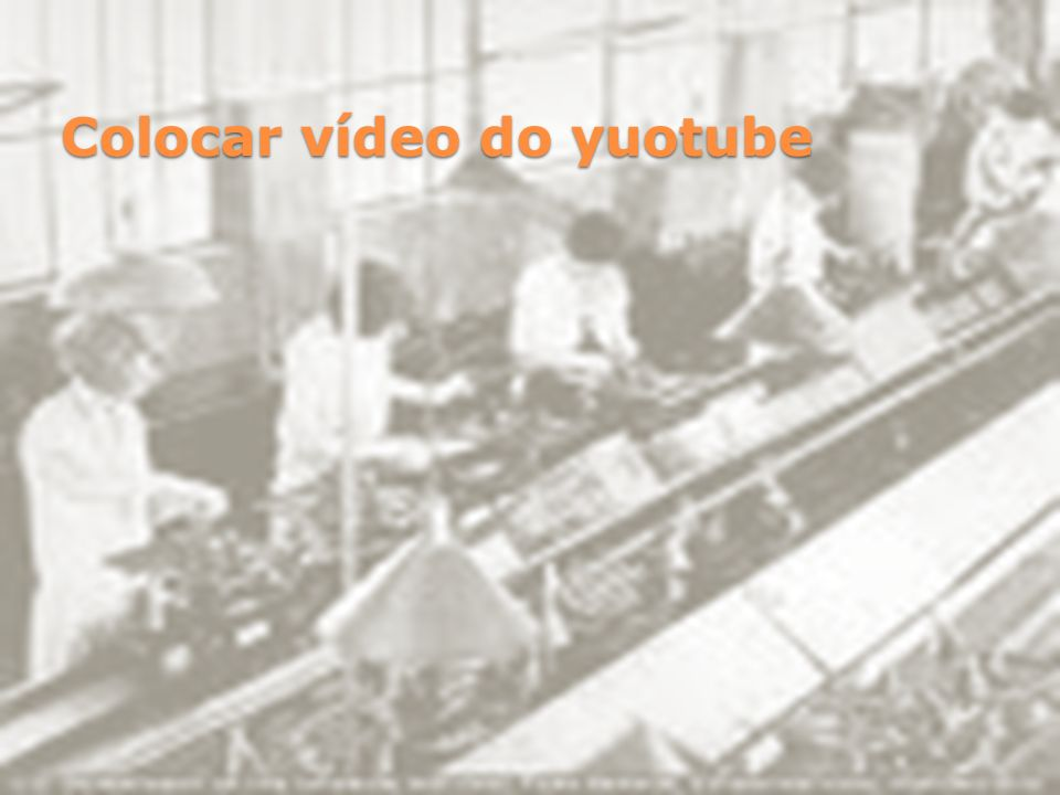 Colocar vídeo do yuotube