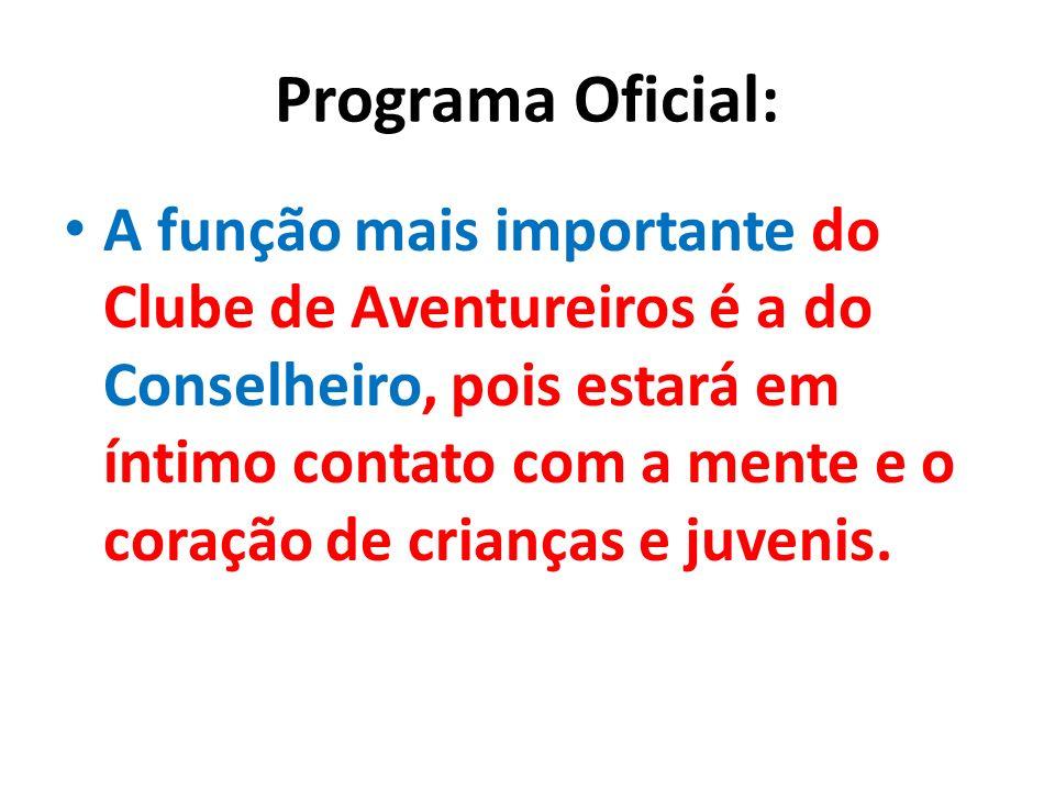 Programa Oficial: