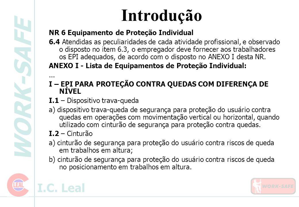 Introdução NR 6 Equipamento de Proteção Individual