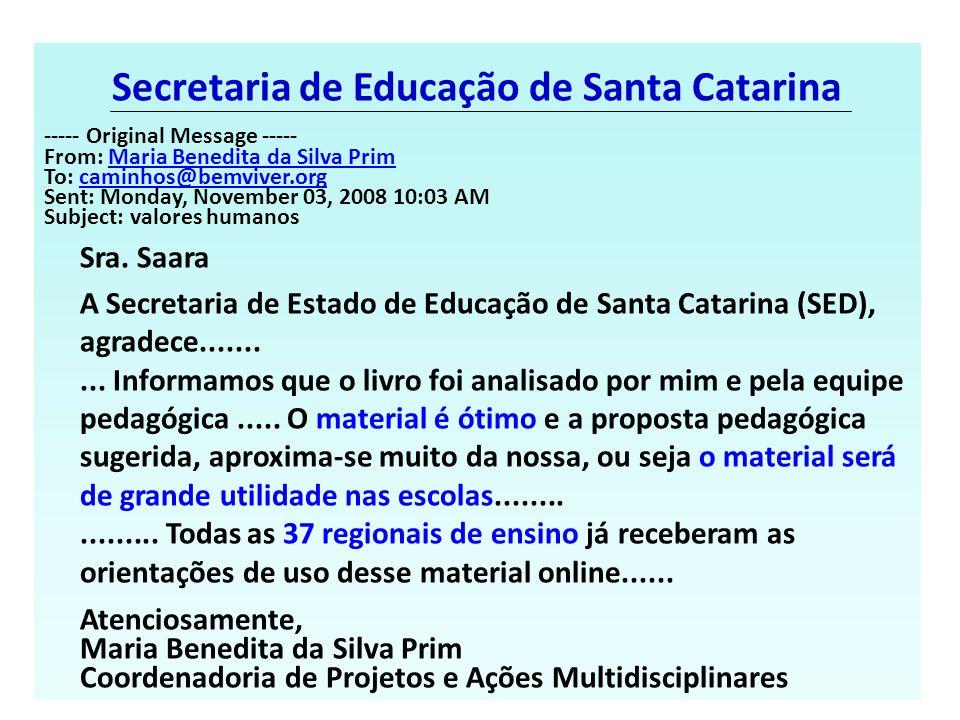 Secretaria de Educação de Santa Catarina