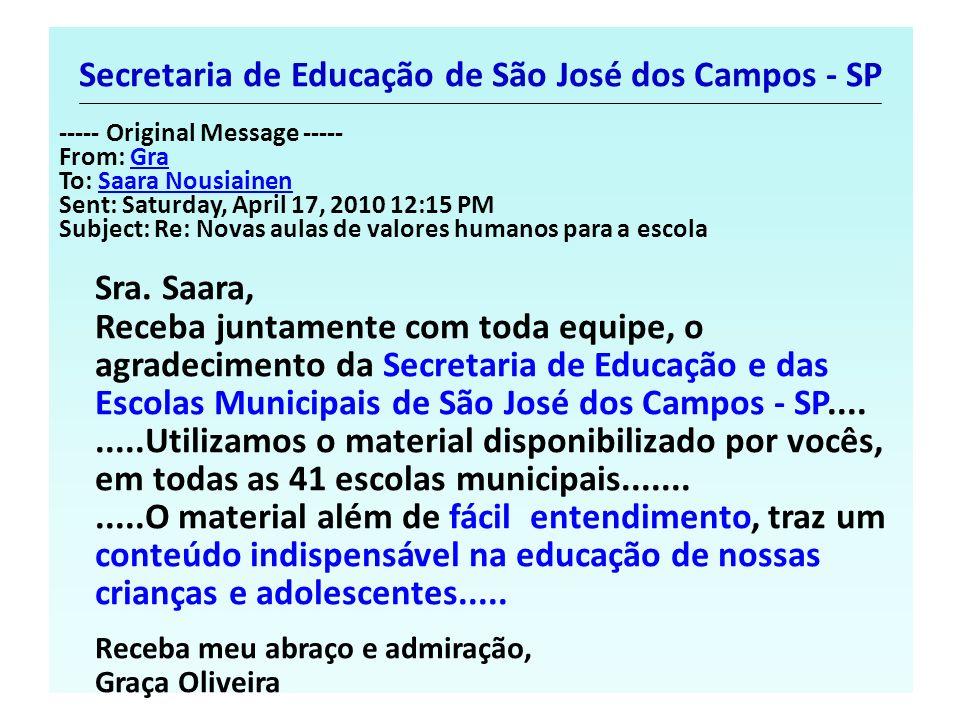 Secretaria de Educação de São José dos Campos - SP