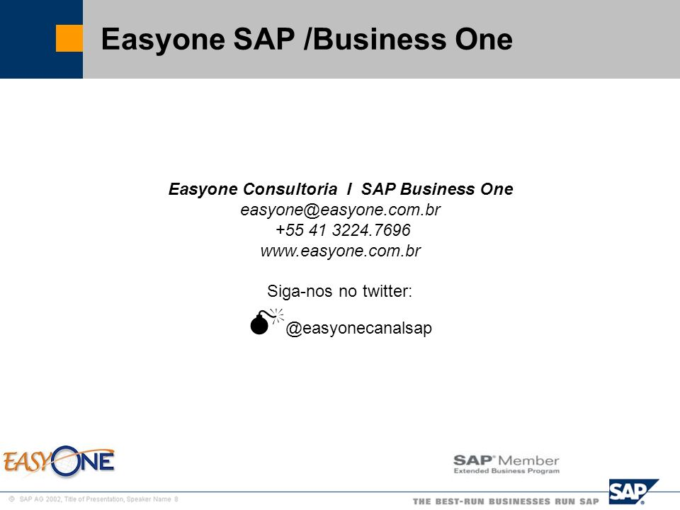 Easyone SAP /Business One