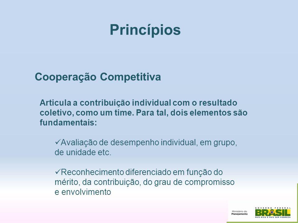 Princípios Cooperação Competitiva