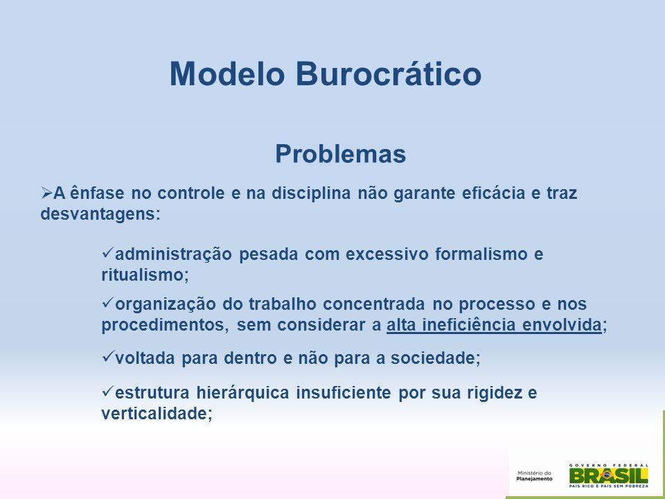 Modelo Burocrático Problemas