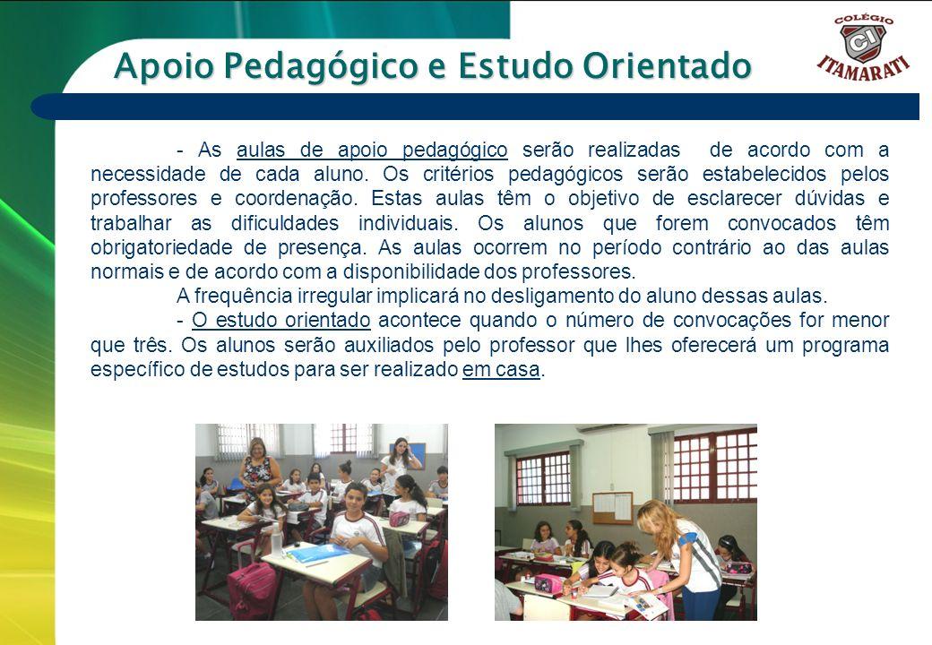 Apoio Pedagógico e Estudo Orientado