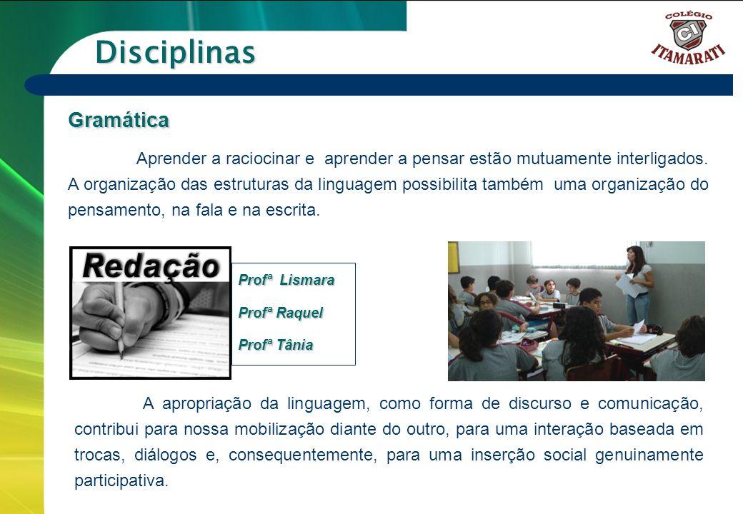 Disciplinas Gramática