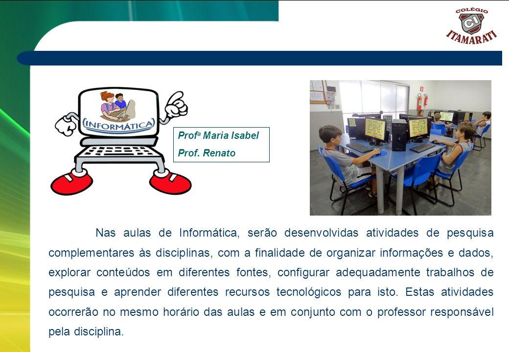 Profa Maria Isabel Prof. Renato.