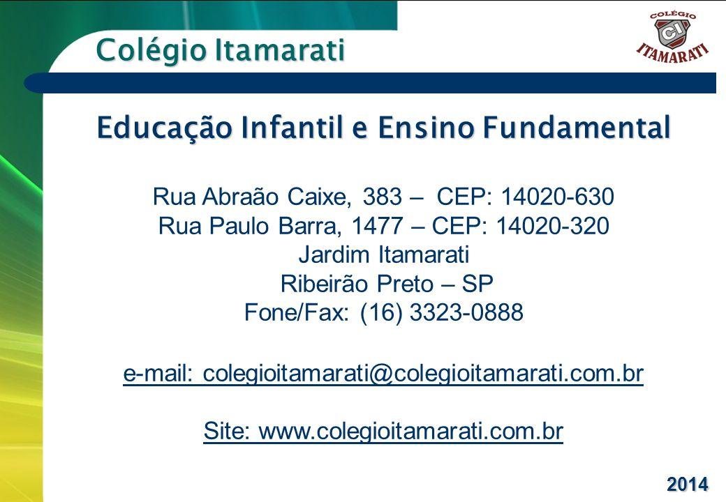Educação Infantil e Ensino Fundamental