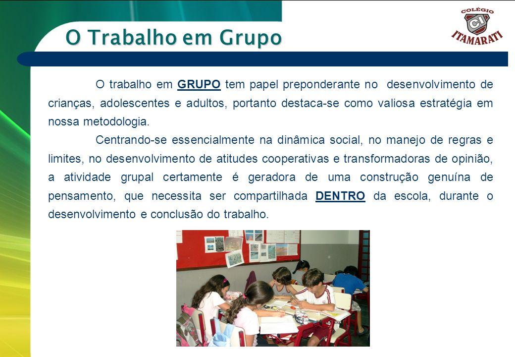 O Trabalho em Grupo