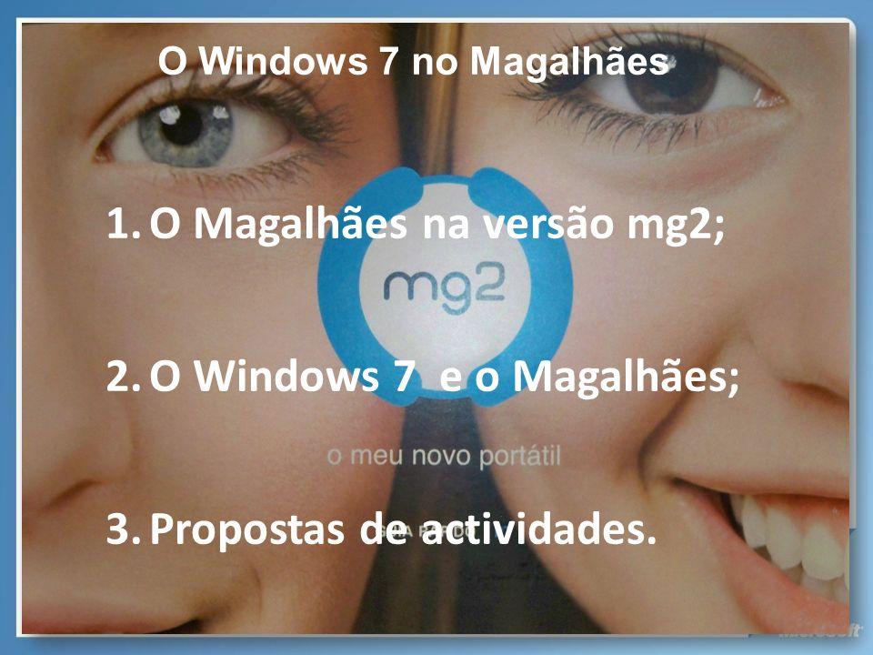 O Magalhães na versão mg2;