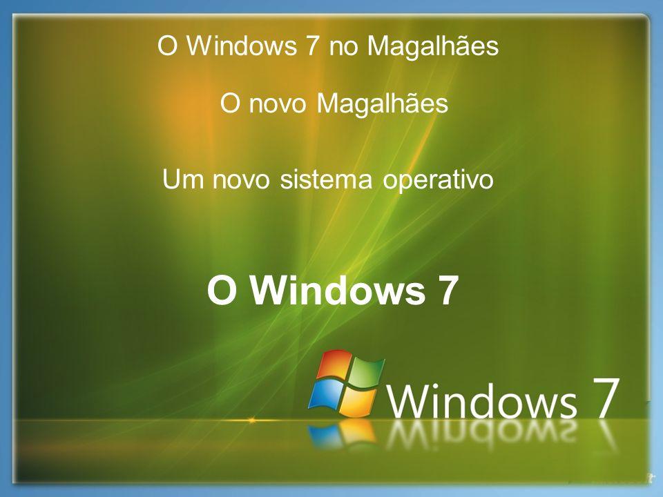 Um novo sistema operativo