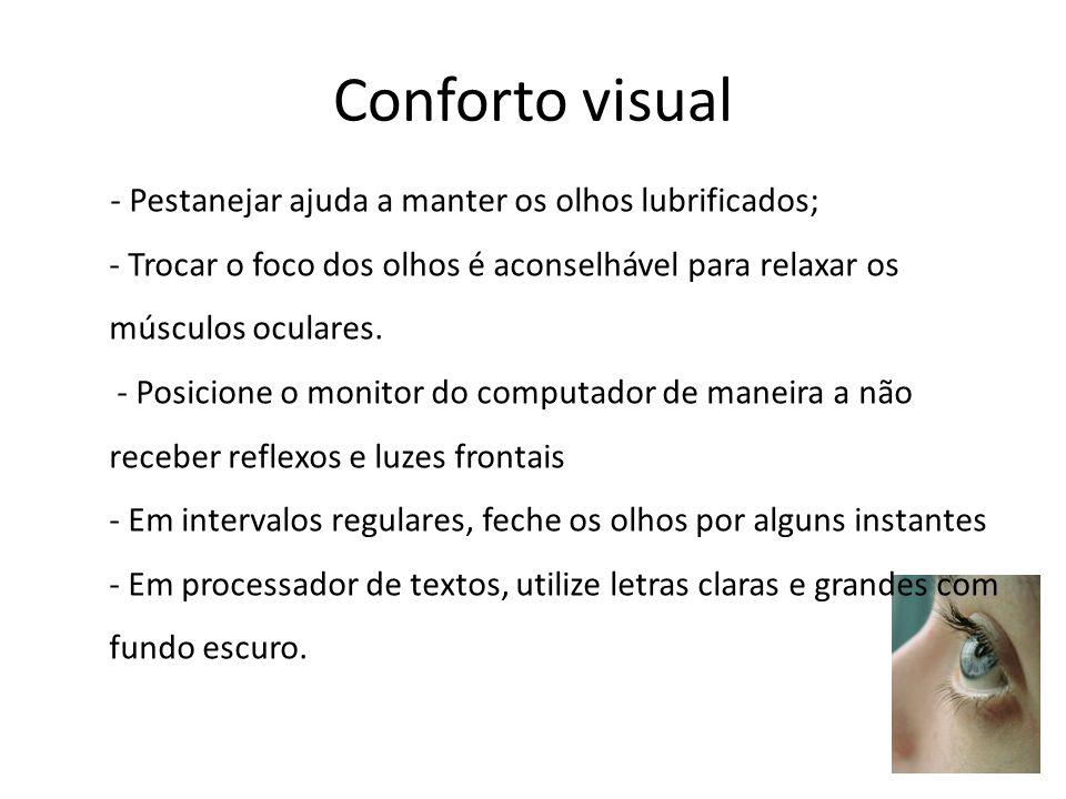 Conforto visual