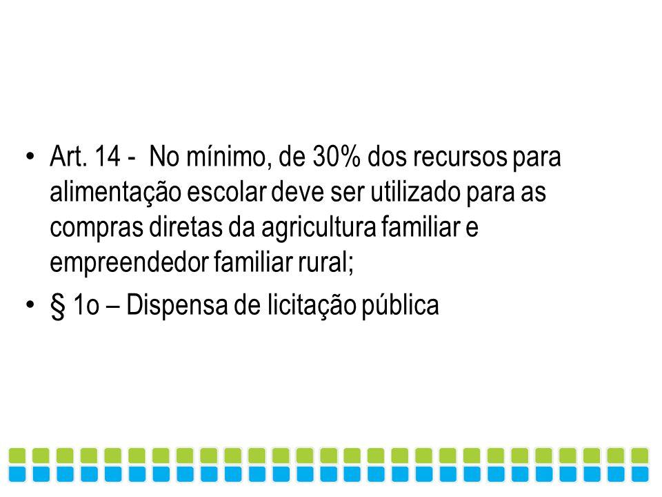 PONTOS CHAVES DO MARCO REGULATÓRIO (Lei 11.947/2009)