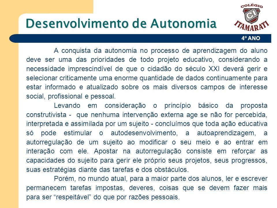 Desenvolvimento de Autonomia