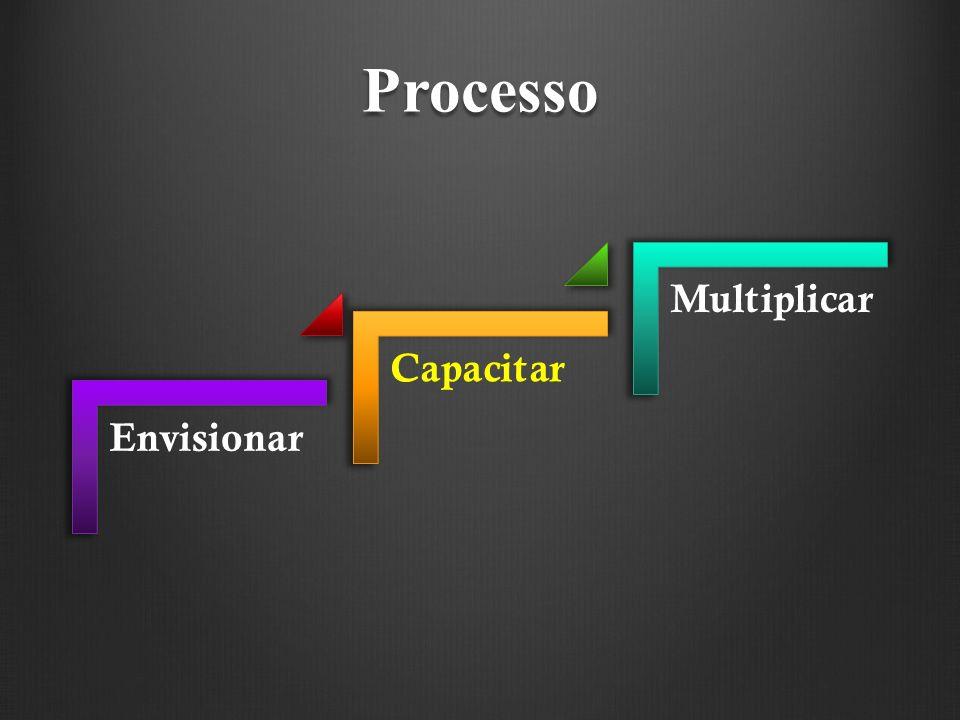 Processo Envisionar Capacitar Multiplicar