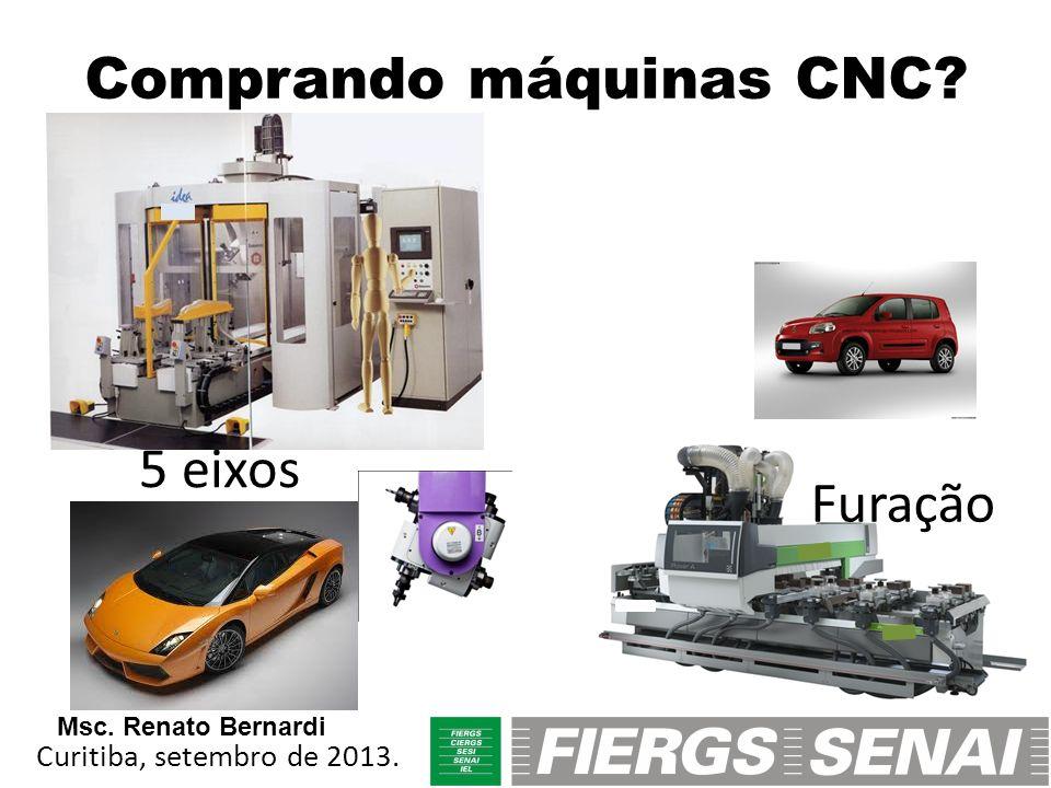Comprando máquinas CNC
