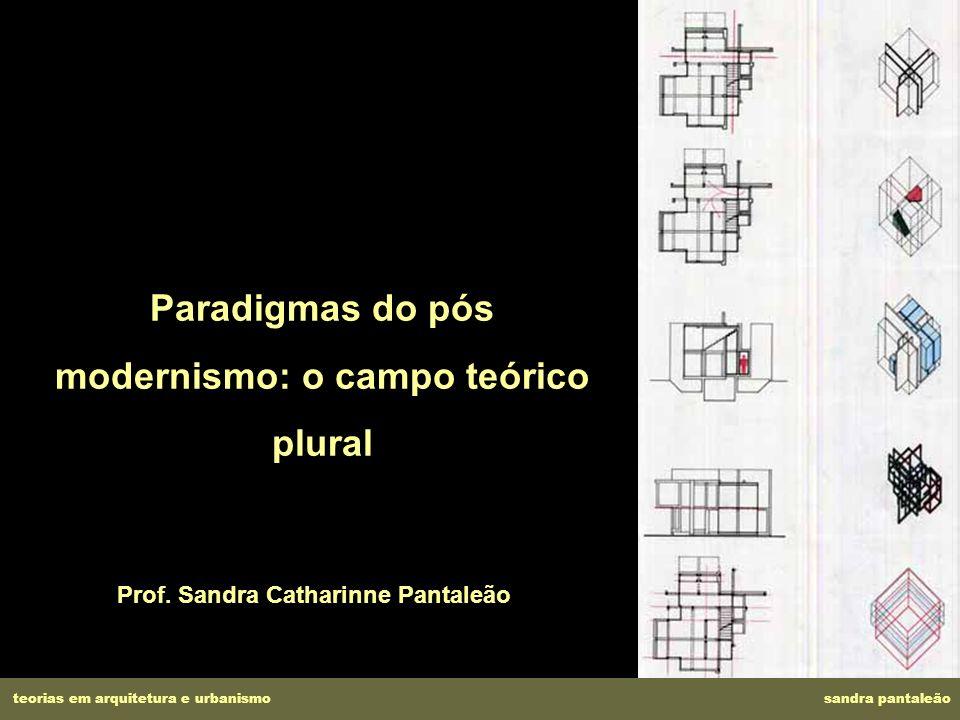 Paradigmas do pós modernismo: o campo teórico plural