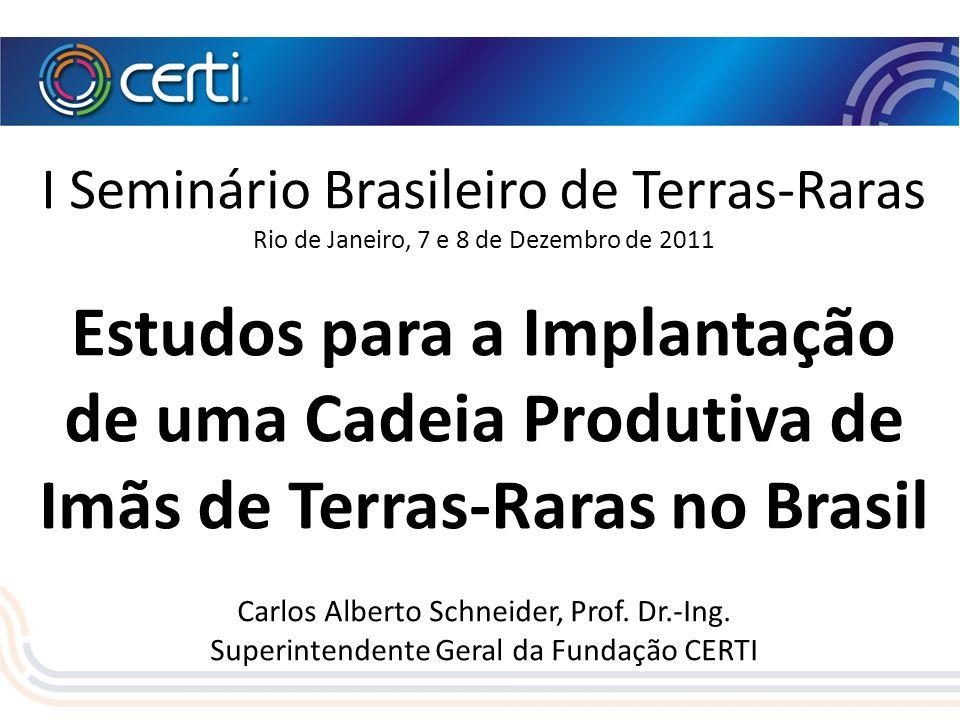 I Seminário Brasileiro de Terras-Raras