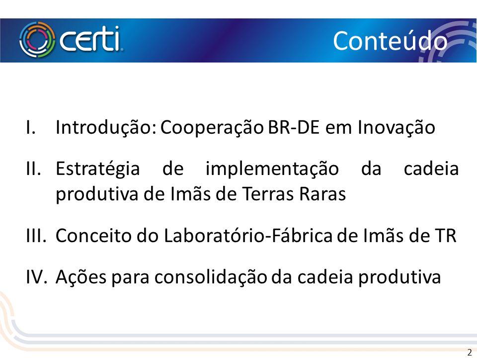 Conteúdo Introdução: Cooperação BR-DE em Inovação