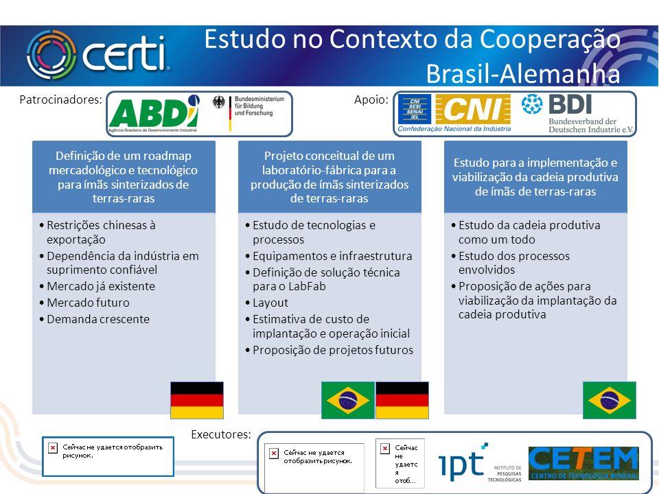 Estudo no Contexto da Cooperação Brasil-Alemanha
