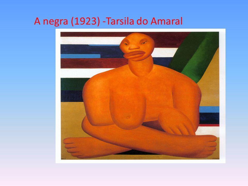 A negra (1923) -Tarsila do Amaral