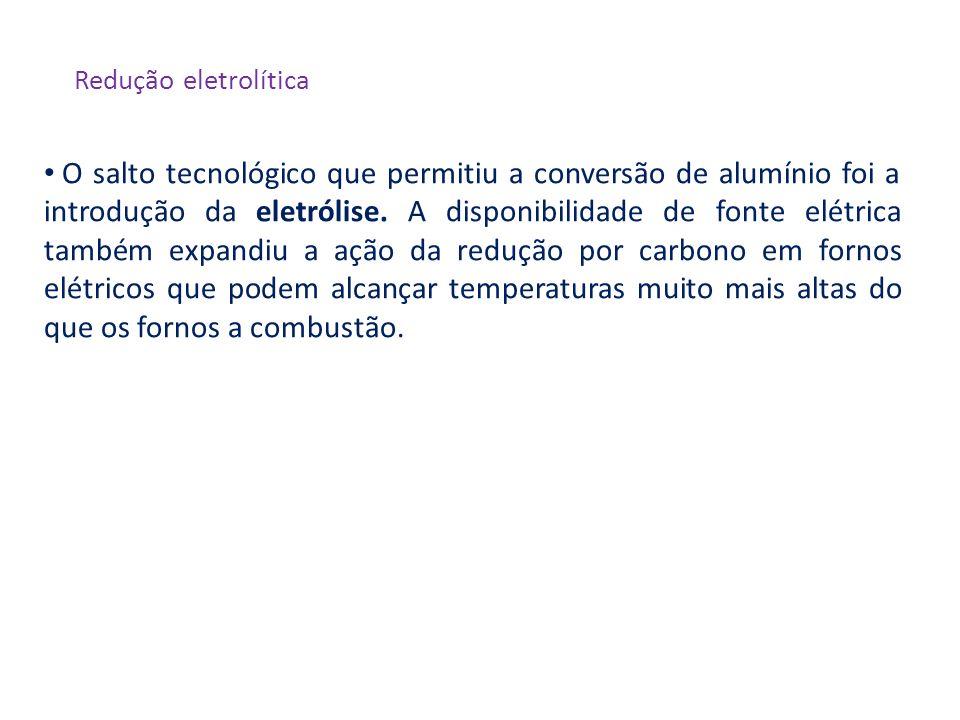Redução eletrolítica