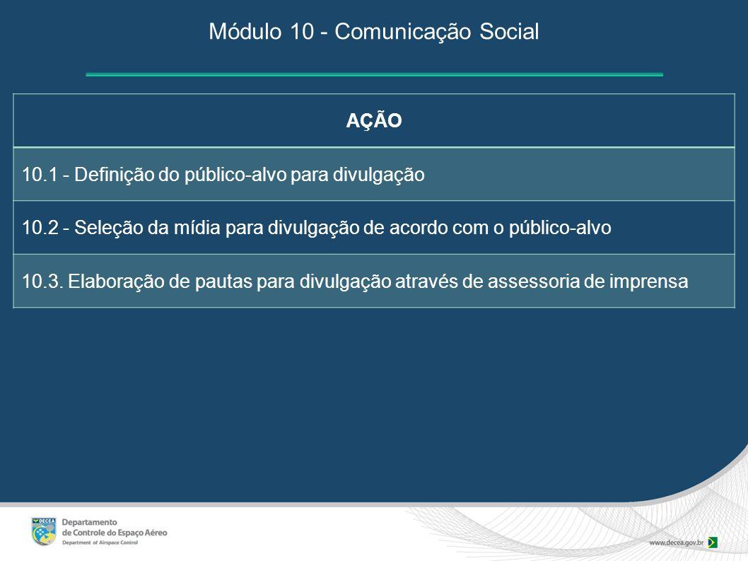 Módulo 10 - Comunicação Social